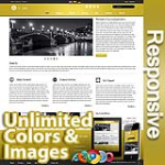 Ares Yellow - Responsive Skin - Bootstrap - Corporate / Business / Mobile Tablet Skin